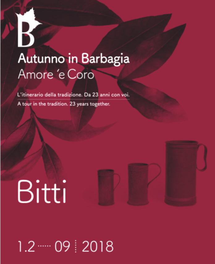 Bitti, Autunno in Barbagia 2018