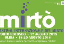 Mirto Festival Olbia 2018