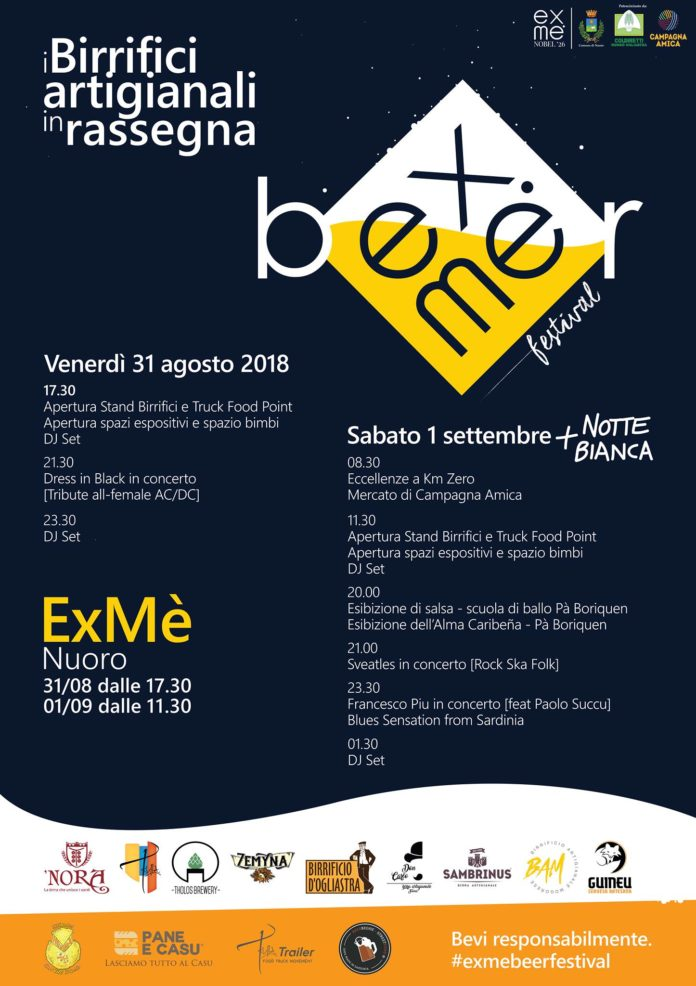 Exme Beer Festival Nuoro