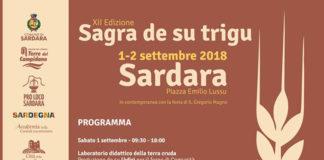 Sagra de Su Trigu 2018 Sardara