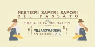 Villanovaforru Mestieri Saperi dal Passato 2018