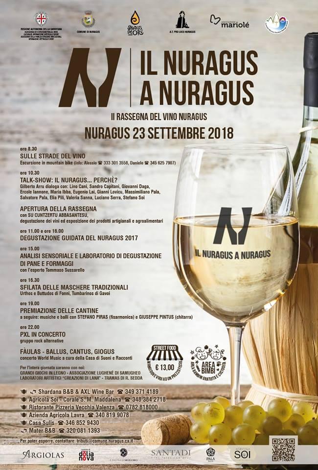 Rassegna Vino Nuragus 2018
