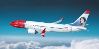 Grazia Deledda sui Velivoli Norwegian Airlines