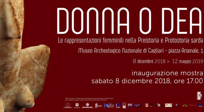 Mostra Donna O Dea 2018 Cagliari