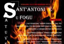Sant'Antoni 'e su Fogu 2019 a Sorgono