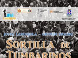 Sa Sortilla de tumbarinos, Jovia Lardajola 2019
