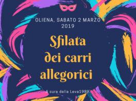 Oliena Sfilata Carri Allegorici 2019